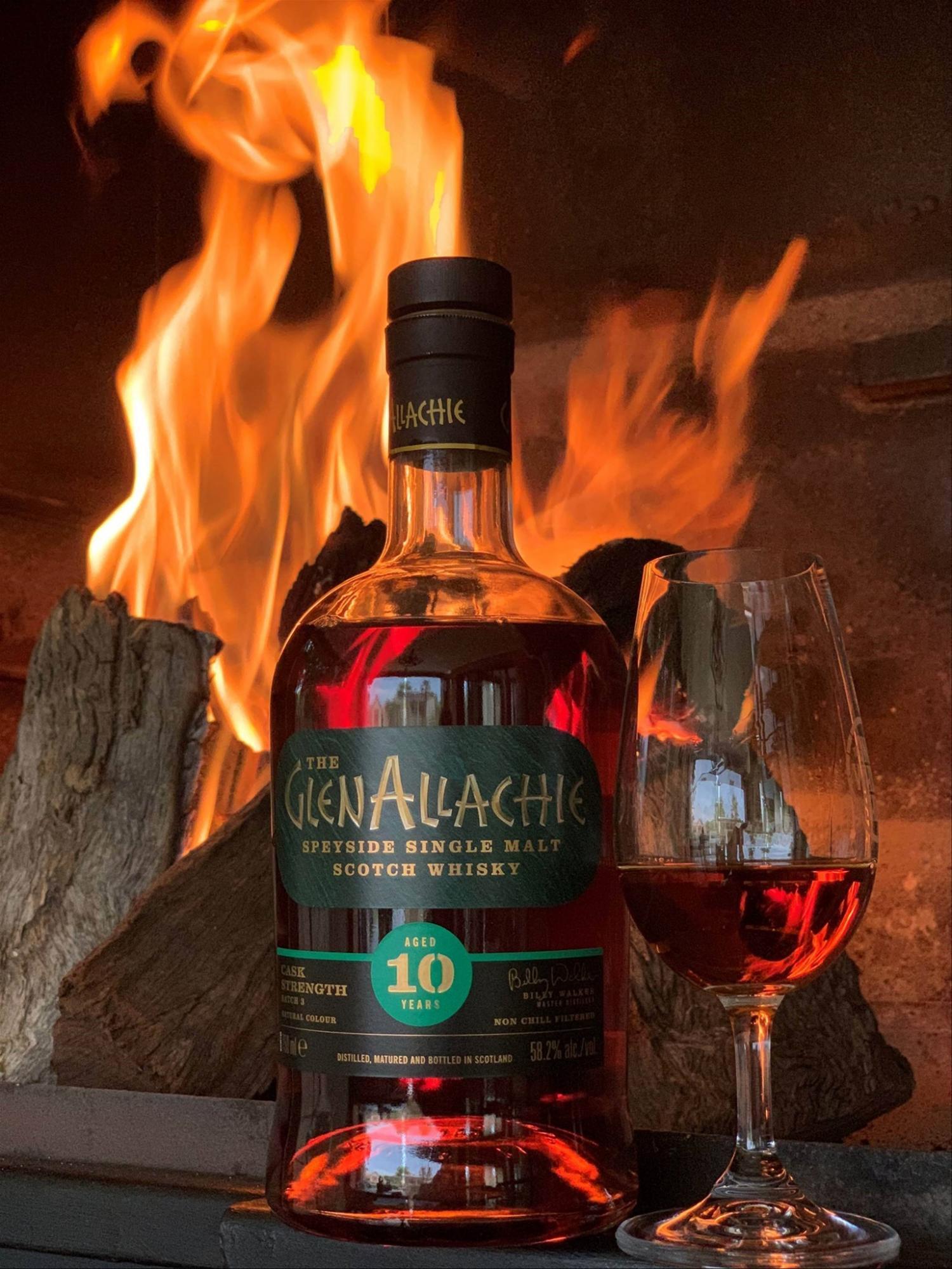 The GlenAllachie Single Malt Cask Strenght 10 rokov