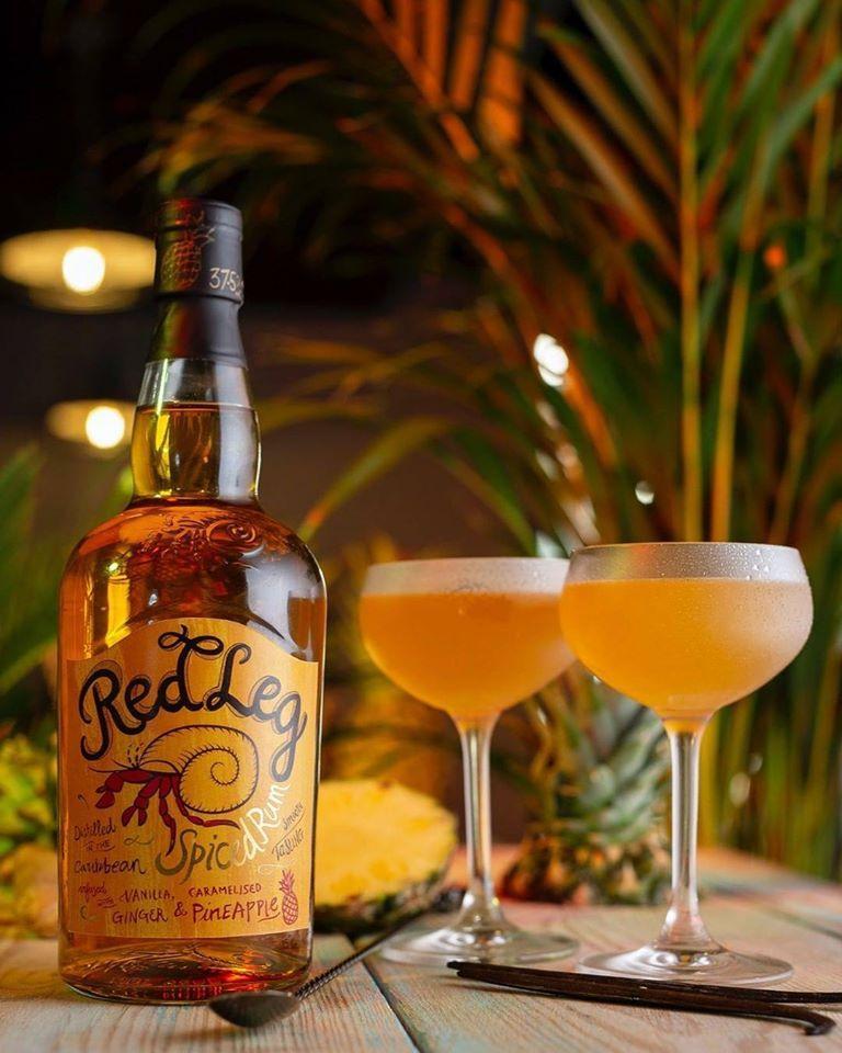 redleg ananas rum koktejl
