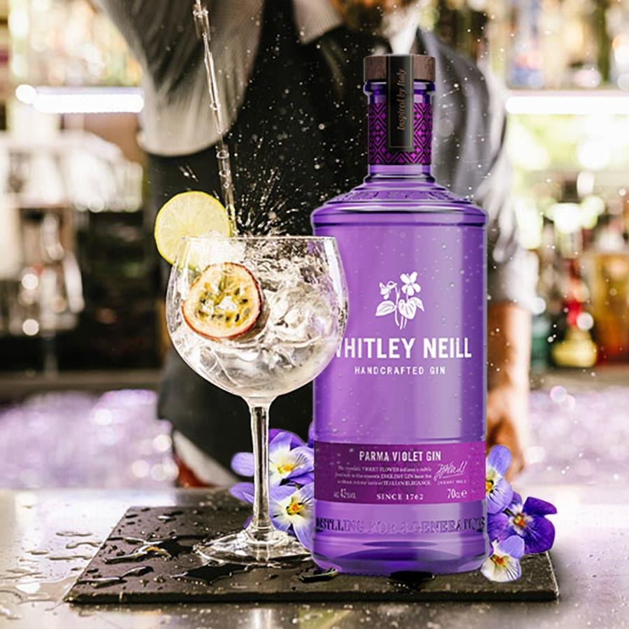 whitley neill fialovy gin parma violet