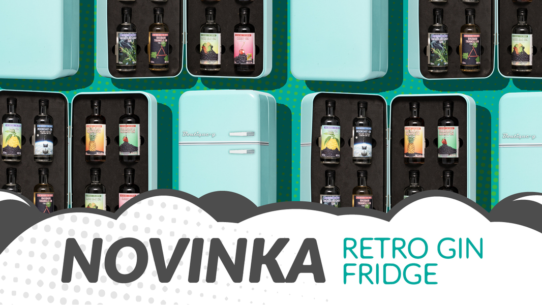 Novinka Retro gin Fridge