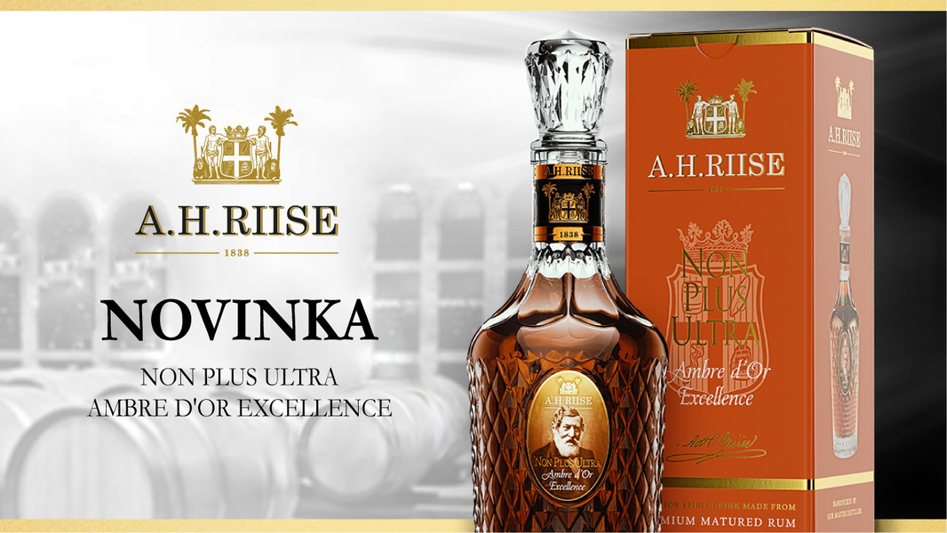 Novinka - A.H. Riise Non Plus Ultra Ambre d'Or Excellence