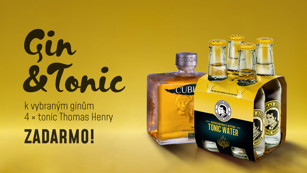 Gin Tonic - Thomas Henry 4 pack