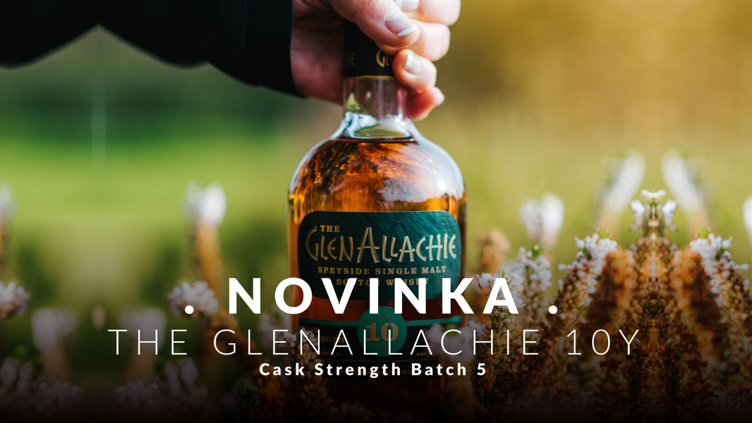 Novinka The Glenallachie 10 Cask Strenght Batch 5