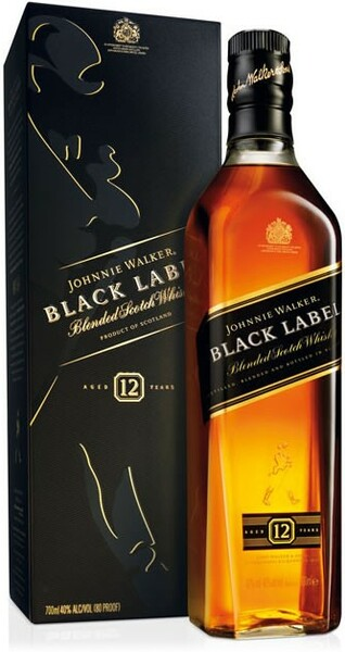 Whisky Johnnie Walker Black Label 12 Years Old