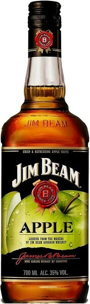 Whisky likér Jim Beam Apple