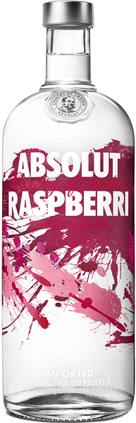 Vodka Absolut Raspberry 1l