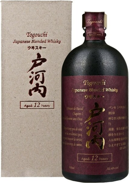 Whisky Togouchi 12 Years Old