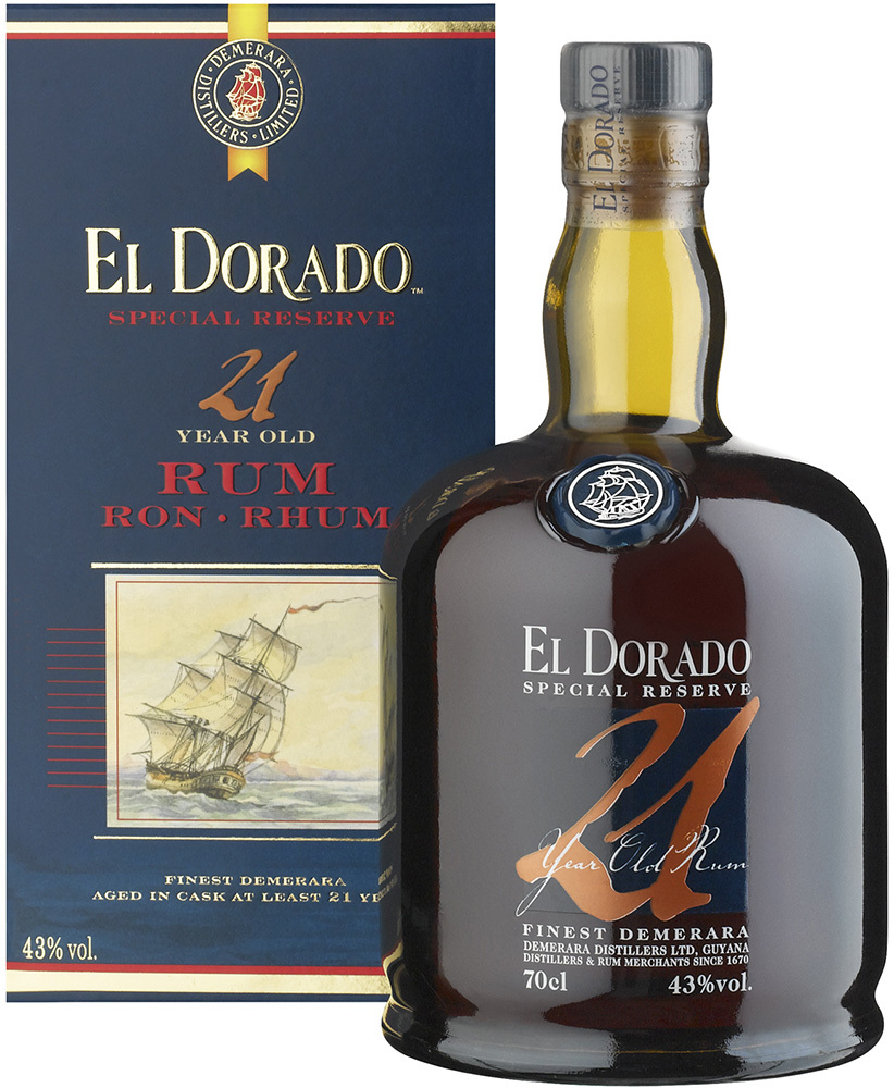 Rum El Dorado 21 Years Old