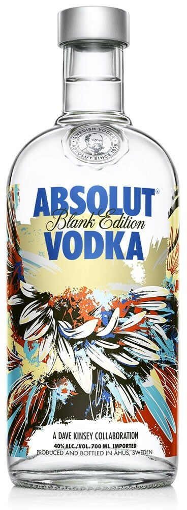 Vodka Absolut Blank by Dave Kinsey