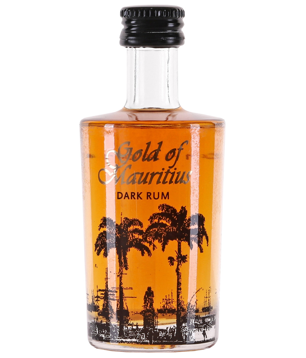 Gold of Mauritius Dark Rum mini