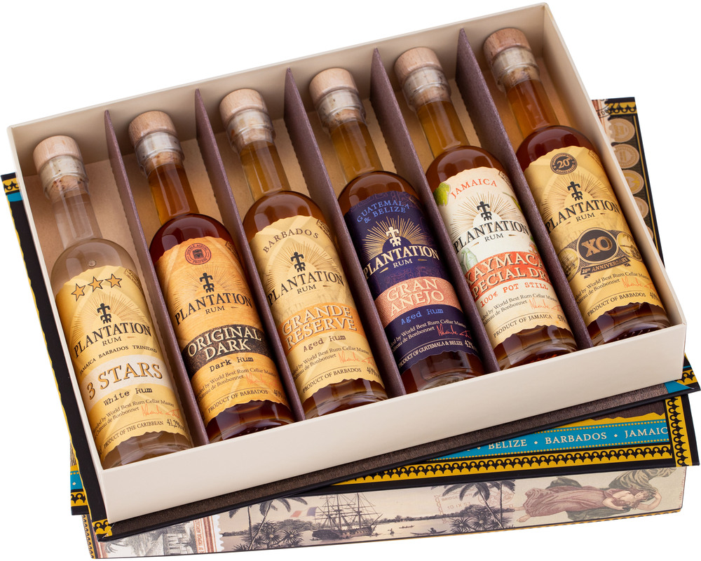 Plantation Experience Cigar Box 6 x 0,1l