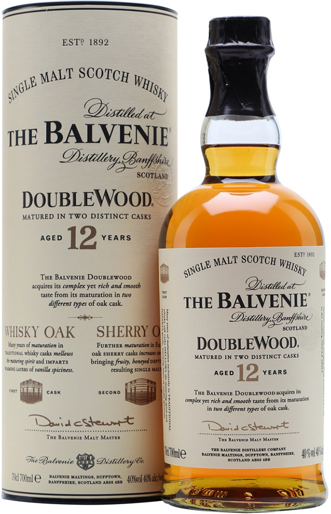 Whisky Balvenie DoubleWood 12 Years Old