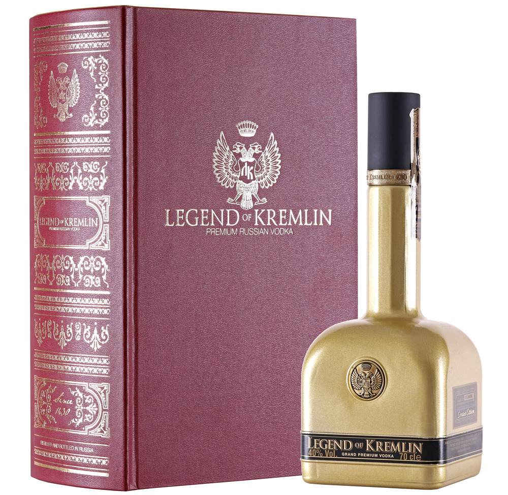 Vodka Legend of Kremlin Limited Edition
