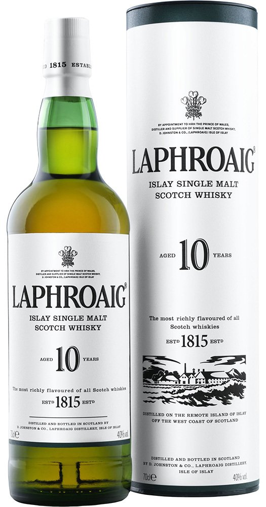 Whisky Laphroaig 10 Years Old