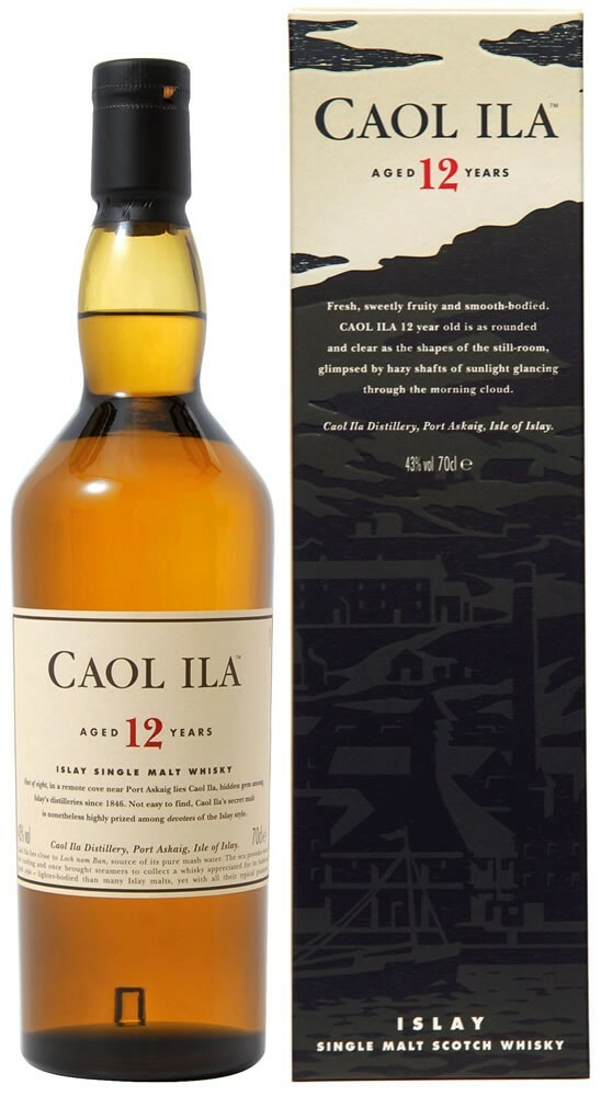 Whisky Caol Ila 12 Years Old