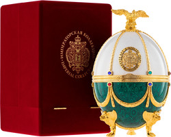 Carskaja Imperial Collection Faberge Perla a Smaragd