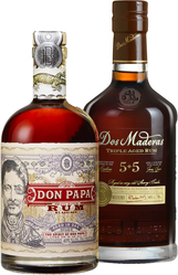 Set Don Papa + Dos Maderas PX 5+5