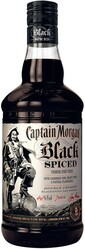 Rum Captain Morgan Black Spiced 1l