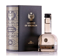 Vodka Legend of Kremlin Kniha Mini