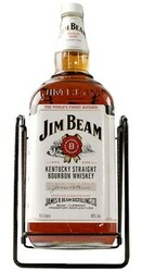 Whiskey Jim Beam 4,5l v kolíske
