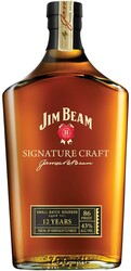 Whiskey Jim Beam Signature Craft 12 Years Old